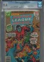 Justice League of America #140 CGC NM 9.4 WP! 1ST APP The MANHUNTERS! Giant-Size