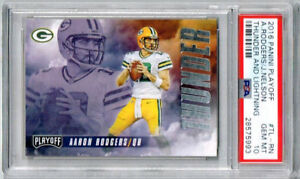 2016 Panini Playoff Aaron Rodgers/ Jordy Nelson Thunder and Lightning PSA 10