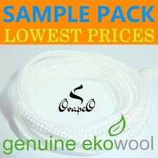 Genuine Ekowool SAMPLE PACK Hollow | Cotton | Silica Core 1,2,3mm Wick