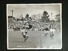 GEELONG FOOTBALL CLUB VS COLLINGWOOD 1950's ORIGINAL PRESS PHOTO