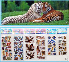 6pcs kids favor Embellishments crafts stickers animals party stickers lot gift