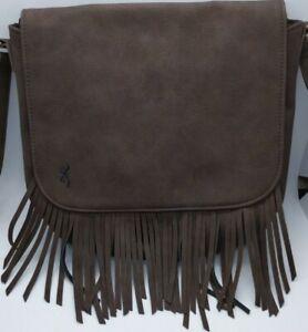Concealed Carry Gun Purse, Dakota Fringe Crossbody Purse by Browning CCW Handbag