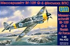 UNIMODELS 432 1/48 Messerschmitt Bf 109 G-6 Finnish Air Force