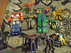 Transformers 20th Anniversary Masterpeice Optimus Prime Plus more