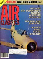 AIR CLASSICS JUL 84: GOLDEN AGE AIRCRAFT PICS/ AC PHOTOGRAPHY Pt.2/ 'PHOTO JOES'