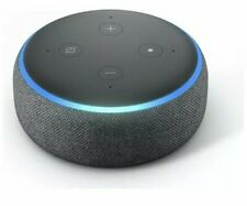 Amazon Echo Dot (3rd Generation) Smart Speaker with Alexa - Charcoal Black NEW