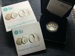 2017 Nations of the Crown SILVER PROOF £1 coin boxed CoA Royal Mint