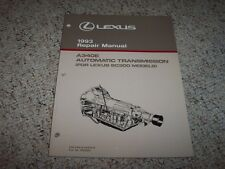 1993 Lexus SC300 SC 300 A340E Automatic Transmission Shop Service Repair Manual