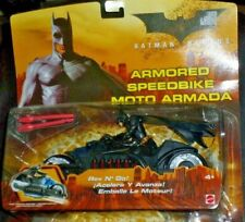 2005 Batman Begins Armored Speedbike Moto Armada Mint Factory Sealed Package