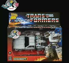 Transformers Back to the Future Delorean Gigawatt  CONFIRMED Hasbro preorder