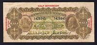 Australia R-5. (1926) Kell/Collins - 10  Shillings.. George V Portrait.  Fine+