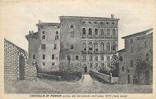 Italy Castello di Porcia prima del terremoto before earthquake