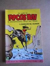 Gli Albi di Pecos Bill n°96 1962 edizioni Fasani  [G402]