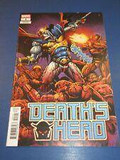 Death's Head #1 1:50 Super Rare Sharp Variant NM Gem Wow