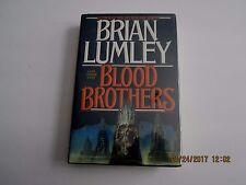 Blood Brothers by Brian Lumbley 1st/1st 1992 HC/DJ
