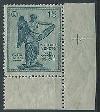 1921 REGNO VITTORIA 15 CENT LUSSO MNH ** - ED703