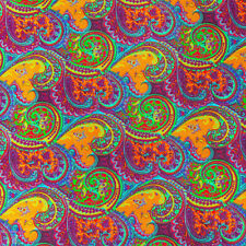 African Print Fabric 100% Cotton 44'' wide sold by the yard (90200-4)