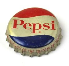 Vintage Pepsi Cola Tapa de botella EE.UU. Soda SELLO CORCHO Recto Fuente