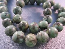 African Turquoise Round Beads 8mm 49pcs
