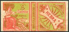 Philippine LA CANTABRIA HEBRA Cigarette Label