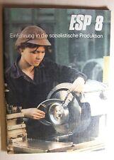 DDR Lehrbuch ESP Klasse 8 von 1986