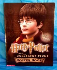 Harry Potter and the Sorcerer's Stone Poster Book 15 Different 9x12 Pictures EUC