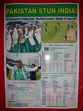 Pakistan 2017 ICC Champions Trophy winners - souvenir print