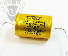NEW! Jensen Copper Foil Paper-In-Oil Cap .22 uF Capacitor 630v