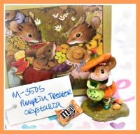 ❤️Wee Forest Folk Pumpkin Treater M-350s Limited Edition Halloween Mouse WFF❤️