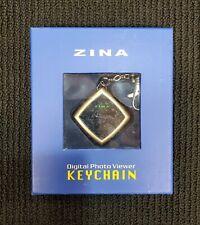 Zina Digital Photo Viewer Keychain New In Box