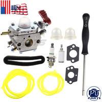 Carburetor For MTD 753-06288 ZAMA C1U-P27 TB2044XP Carb Craftsman Fuel Line Kit