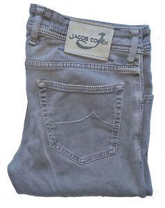 "Men's JACOB COHEN Luxury Grey Tailored HANDMADE Jeans *SLIM/SKINNY* W34"" L32"""