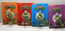 Teenage Mutant Ninja Turtles Lot of 4 TMNT Key Chain Mini Figures New