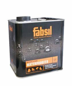 Fabsil UV Waterproofer Sealant Waterproofing Tent Awning Canvas Grangers  2.5L
