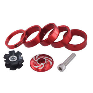 Bike Headset Front Fork Washer Stem Spacers Ring Gasket Bicycle Accessor RD