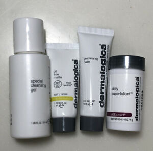 Dermalogica Clean Summer Skin Kit 4pcs, OIL free matte, Daily Superfoliant & gel