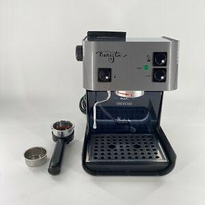 Starbucks Barista SIN006 Espresso Machine Maker w Extras Graphite Grey WORKS