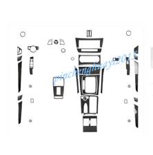 Real Carbon Fiber Car Interior Kit Cover Trim For Mercedes C Class W204 2011-13