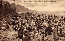 CPA BIARRITZ Bains de soleil á la Plage des Basques (411690)