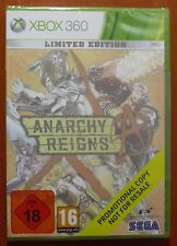 Anarchy Reigns Limited Edition Promotional Promo Copy, Xbox 360, PAL, NEW SEALED
