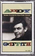 """ANDY GRIFFITH """"SINGS OLD-TIME SONGS"""" CASSETTE sealed"""