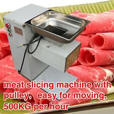 meat grinder cutter slicer machine for meat,beef,pork,500KG output with pulley