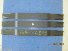 """(3) 6' Befco 000-6845 finish mower blades for 72"""" deck"""