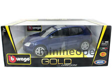BBURAGO GOLD 18-12071 VW VOLKSWAGEN GOLF V 1/18 DIECAST BLUE
