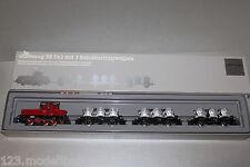 Märklin 2874 Mercancías con Locomotora Eléctrica Serie E63 04+3 Vagones Tanque