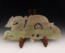 One Dragon shaped Jade Carving
