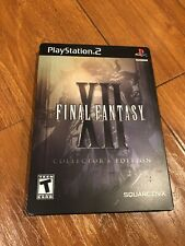 Final Fantasy XII: Collector's Edition - PS2 Game Complete Metal Case 2 disc