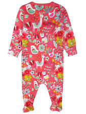 New Baby Girls Babygrow 12-18 Months Newborn Baby Girls Sleepsuit Red Ex Store