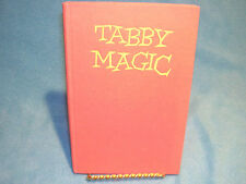 Tabby Magic by Cecile de Banke Published by Hutchinson of London 2nd Imp 1960