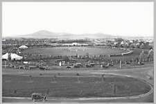 CANBERRA  MANUKA OVAL cricket match circa 1935 modern Digital Photo Postcard
